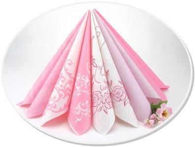 Tischdeko von rosa ber altrosa bis pink - Deko in altrosa ...