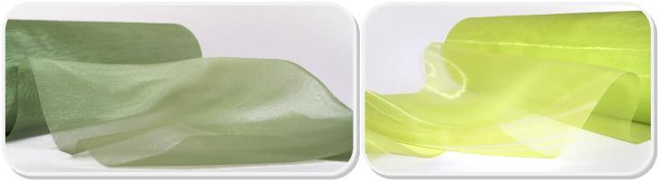 Tischläufer grün Organza