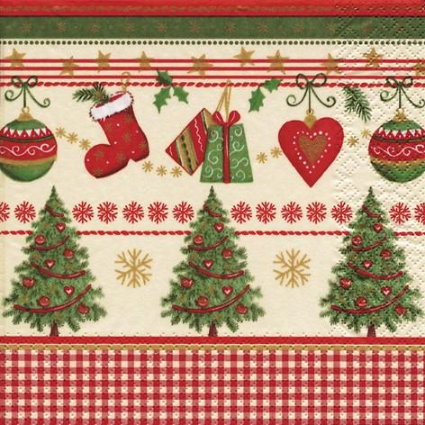 lunch weihnachtsservietten 33 x 33 cm traditional christmas servietten papierservietten. Black Bedroom Furniture Sets. Home Design Ideas