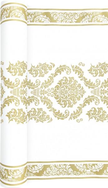 airlaid tischl ufer 490 x 40cm elegant gold tischl ufer tischb nder airlaid. Black Bedroom Furniture Sets. Home Design Ideas