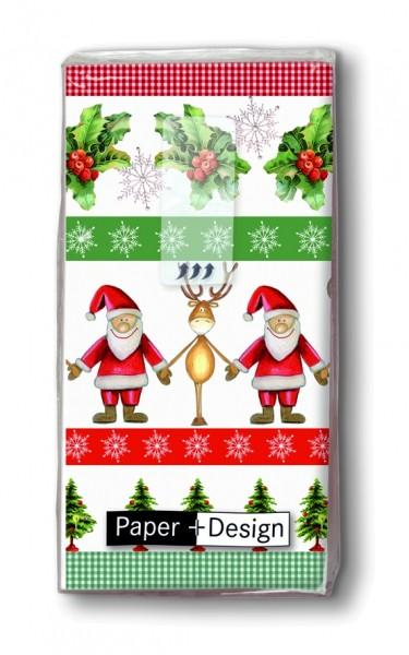 geschenkidee weihnachten taschent cher together. Black Bedroom Furniture Sets. Home Design Ideas