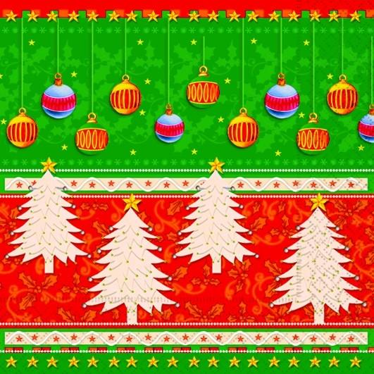 lunch serviette weihnachten design navidad colorada. Black Bedroom Furniture Sets. Home Design Ideas